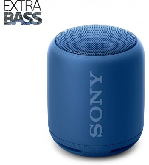 Sony SRS-XB10/LC Portable Bluetooth Speaker, Mono Channel, Blue